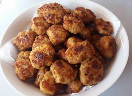 Chiftele de post cu ciuperci si cartofi