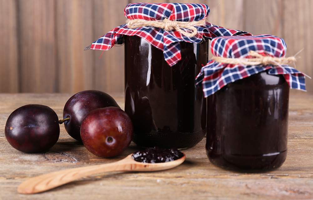 Gem de prune pentru iarna (magiun) reteta simpla si rapida fara zahar
