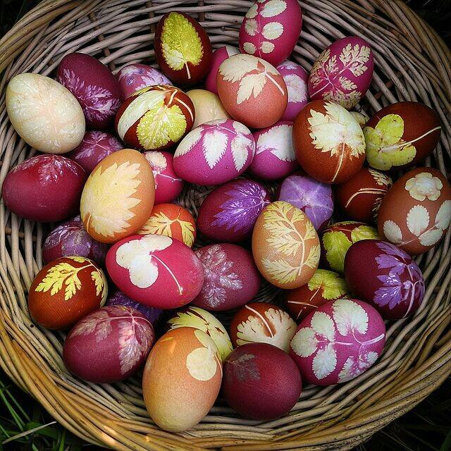 Cum vopsim in mod natural ouale?