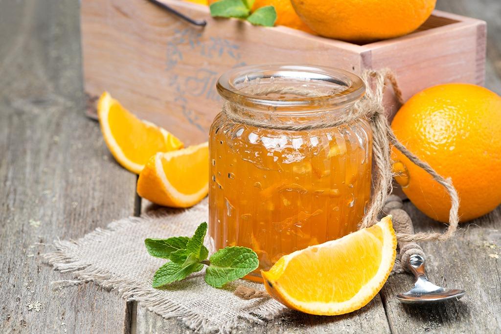 Gem de portocale fara conservant