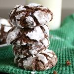 Biscuiti crapati cu ciocolata (Chocolate Crinkles)