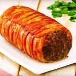 Rulada suculenta cu carne si spanac (reteta video)