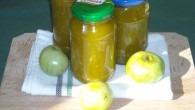 dulceata de gogonele sau patlagele verzi