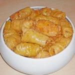 Sarmalute cu ciuperci si orez (reteta de post)