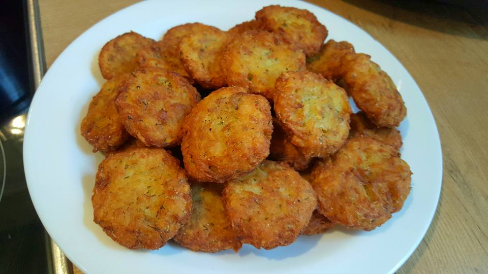 Chiftelute de cartofi si soia, de post