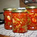 Fasole pastai in sos de rosii sau bulion la borcan