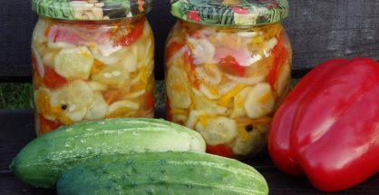 Salata asortata pentru iarna