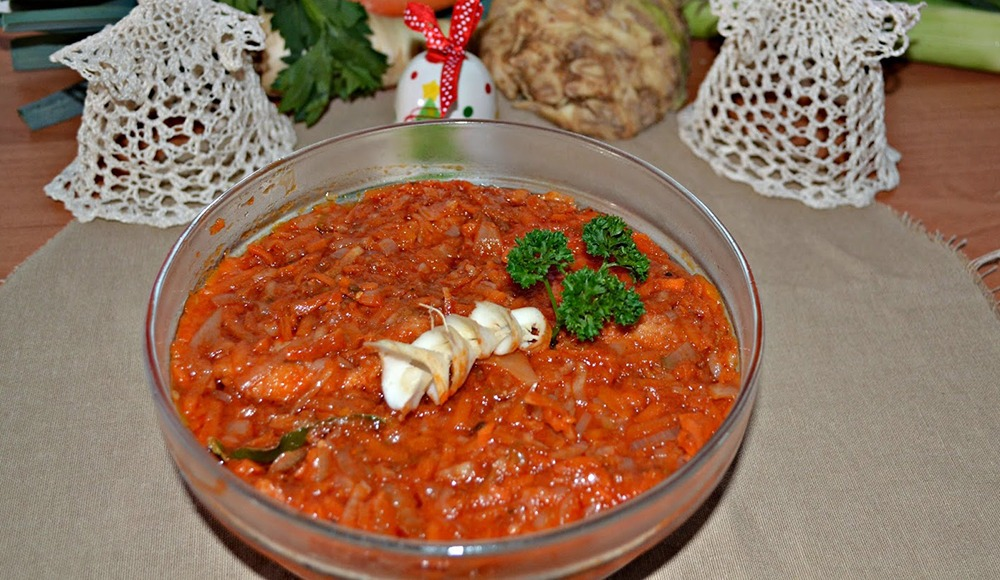 Tocanita de pui cu legume