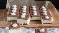 Prajitura cu cocos si biscuiti, fara coacere