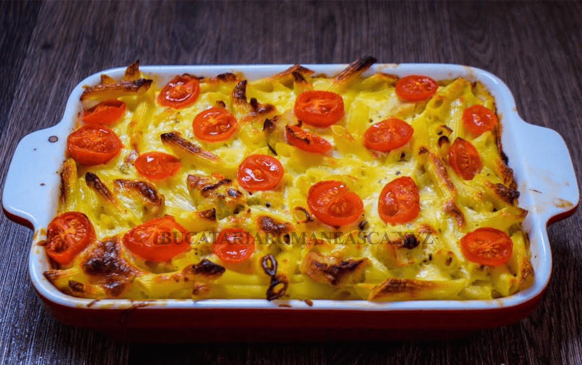 Piept de pui cu paste si iaurt – un pranz nemaipomenit de delicios