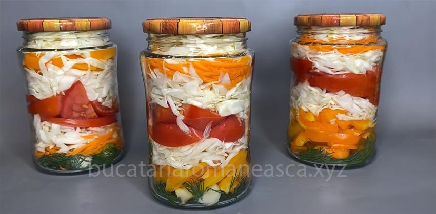 Salata cu de toate, pentru iarna